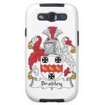 Escudo de la familia de Bradley Samsung Galaxy S3 Protectores