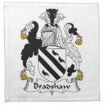 Escudo de la familia de Bradshaw Servilletas De Papel