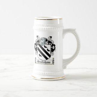 Escudo de la familia de Bradshaw Taza De Café