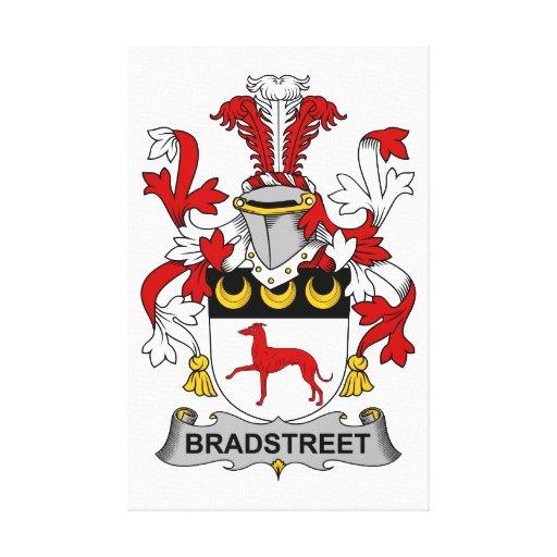 Escudo de la familia de Bradstreet Impresión En Lona Estirada