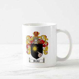 ESCUDO DE LA FAMILIA DE BRADY - ESCUDO DE ARMAS DE TAZA DE CAFÉ