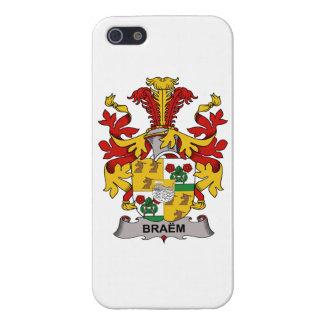 Escudo de la familia de Braem iPhone 5 Carcasas