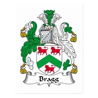 Escudo de la familia de Bragg Postal