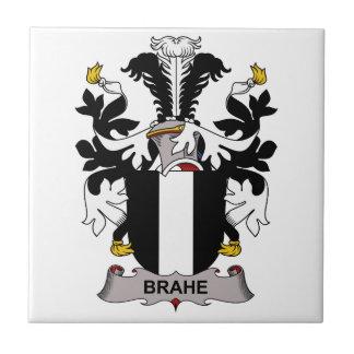 Escudo de la familia de Brahe Azulejo Cerámica