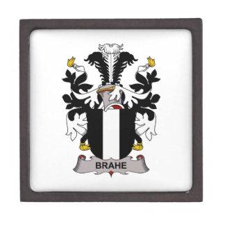 Escudo de la familia de Brahe Cajas De Recuerdo De Calidad