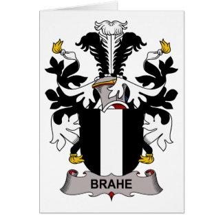 Escudo de la familia de Brahe Felicitacion