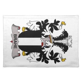 Escudo de la familia de Brahe Manteles