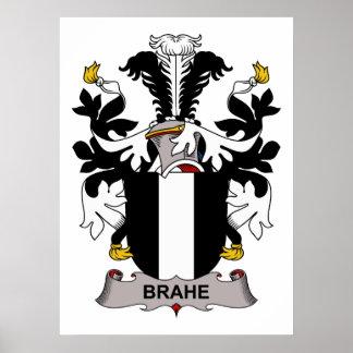 Escudo de la familia de Brahe Posters