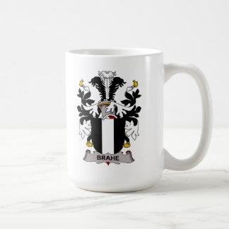 Escudo de la familia de Brahe Taza Básica Blanca