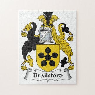 Escudo de la familia de Brailsford Puzzle Con Fotos