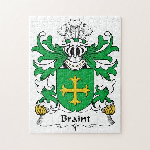 Escudo de la familia de Braint Puzzle Con Fotos