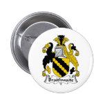 Escudo de la familia de Braithwaite Pins