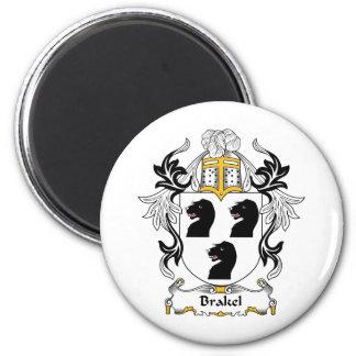 Escudo de la familia de Brakel Imán Redondo 5 Cm