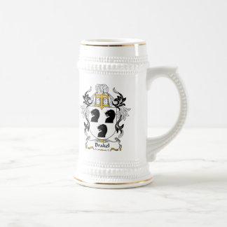 Escudo de la familia de Brakel Jarra De Cerveza