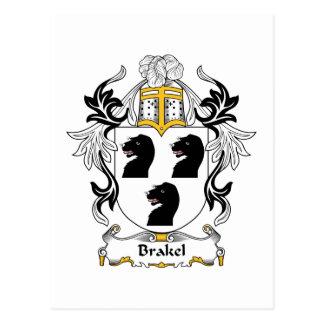 Escudo de la familia de Brakel Postal