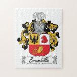 Escudo de la familia de Brambilla Puzzles