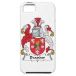 Escudo de la familia de Brander iPhone 5 Carcasas