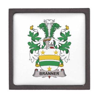 Escudo de la familia de Branner Cajas De Regalo De Calidad