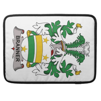Escudo de la familia de Branner Funda Macbook Pro