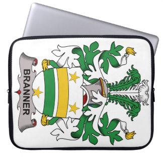 Escudo de la familia de Branner Fundas Ordendadores