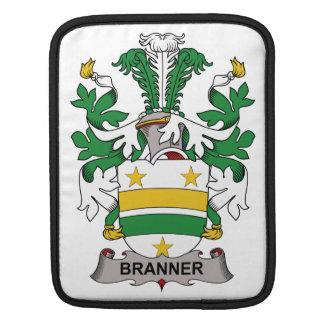 Escudo de la familia de Branner Fundas Para iPads