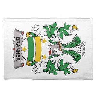 Escudo de la familia de Branner Manteles