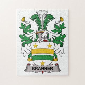 Escudo de la familia de Branner Puzzles