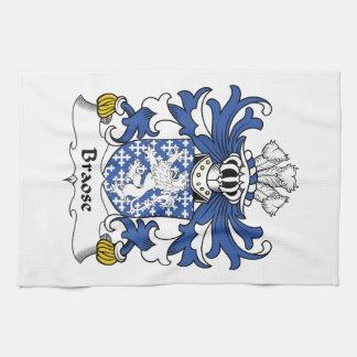Escudo de la familia de Braose Toallas De Mano