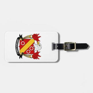 Escudo de la familia de Braser Etiqueta De Maleta