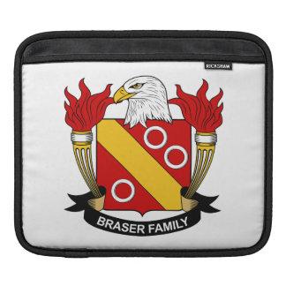 Escudo de la familia de Braser Mangas De iPad