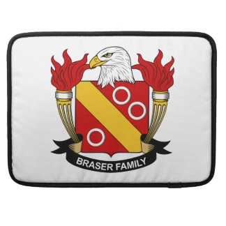 Escudo de la familia de Braser Fundas Macbook Pro