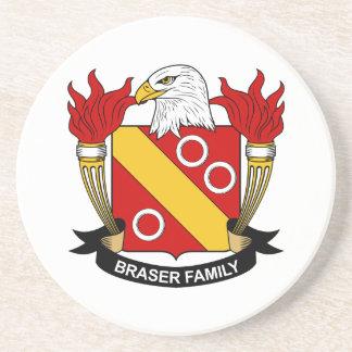 Escudo de la familia de Braser Posavasos Manualidades