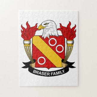 Escudo de la familia de Braser Puzzles