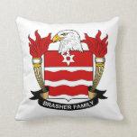 Escudo de la familia de Brasher Cojines