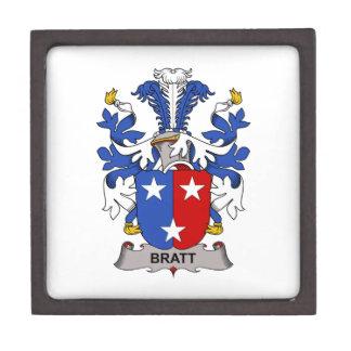 Escudo de la familia de Bratt Caja De Joyas De Calidad
