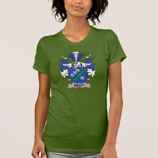 Escudo de la familia de Bratt Camisetas