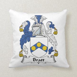 Escudo de la familia de Bratt Cojines