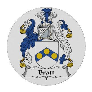 Escudo de la familia de Bratt Juego De Fichas De Póquer