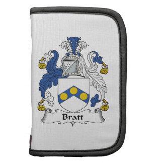 Escudo de la familia de Bratt Planificadores
