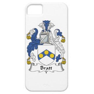 Escudo de la familia de Bratt iPhone 5 Case-Mate Protectores