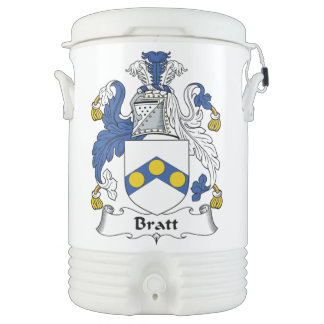 Escudo de la familia de Bratt Vaso Enfriador Igloo
