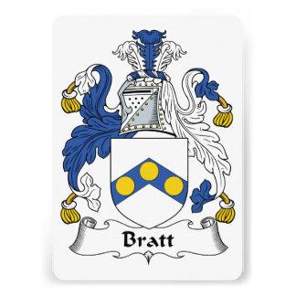 Escudo de la familia de Bratt Anuncio