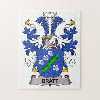 Escudo de la familia de Bratt Puzzle