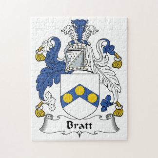 Escudo de la familia de Bratt Rompecabeza