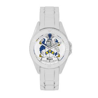 Escudo de la familia de Bratt Reloj De Mano