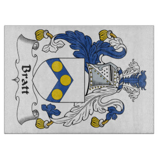 Escudo de la familia de Bratt Tabla Para Cortar