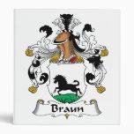 Escudo de la familia de Braun