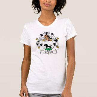 Escudo de la familia de Braun Camiseta
