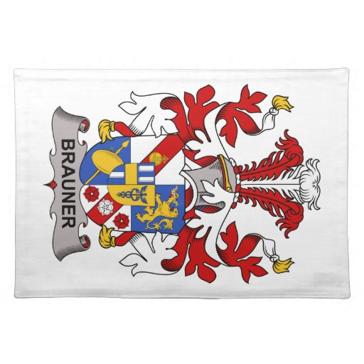 Escudo de la familia de Brauner Manteles