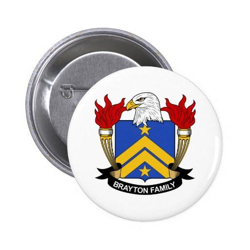 Escudo de la familia de Brayton Pin